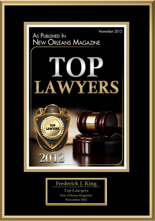 Top Lawyer Award 2012